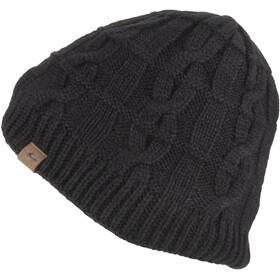 Sealskinz Waterproof Cold Weather Gebreide Beanie, black